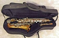 Vintage Bundy II Saxophone w/ Neck, Case & Mouthpiece Selmer Company USA