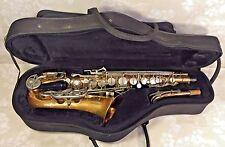 Vintage Bundy II Saxophone w/ Neck, Case & Mouthpiece Selmer Company USA