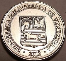 Gem Unc Venezuela 2012 50 Centimos~We Have Gem Unc Coins From South America~F/S
