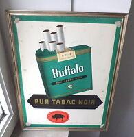 Ancienne plaque publicitaire cigarette Buffalo