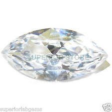5.0 x 10 mm 1.25ct MARQUISE Cut Sim Diamond, Lab Diamond WITH LIFETIME WARRANTY