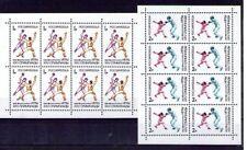 Rusia Deportes Olimpiada Barcelona hojitas del año 1992 (R-124)