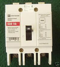 Cutler-Hammer Circuit Breaker, 30 A, 3-Pole, GDB3030D