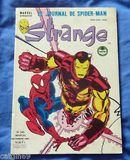 Strange le journal de Spiderman N° 240   1989  Lug - Comics Marvel