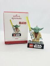 Star Wars A New Hope Yoda Lego 2013 Hallmark Keepsake Christmas Ornament