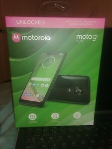 Motorola Moto G7 Play - 32GB - Deep Indigo (Unlocked) Smartphone New Sealed