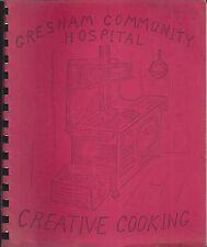 GRESHAM OR VINTAGE COMMUNITY HOSPITAL COOK BOOK CREATIVE COOKING *OREGON RECIPES