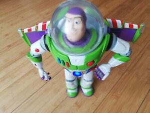 Buzz Lightyear Chrome Utility Anti Gravity Belt Toy Story Thinkway Limited  READ