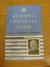 10/10/1956 Reading v Millwall  (folded). Thanks for viewing this item, buy in co
