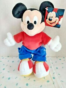 """11 """" MIck Mouse Plush by Fisher Price"""