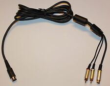 COMMODORE 64 SVIDEO CABLE HIGH PERFORMANCE S-VIDEO C64 128 NEW