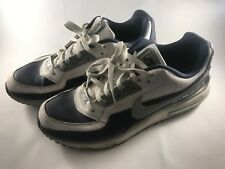 2009 Nike Air Max LTD 3 White/Navy Men's Running Shoes Sz 11.5 316376-140