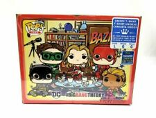 Funko Pop Tees Big Bang Theory Large Bazinga T-Shirt SDCC 2019 Walmart Exclusive