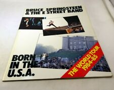 Bruce Springsteen Born in the USA World Tour 1984 program SIGNED by Bill Graham
