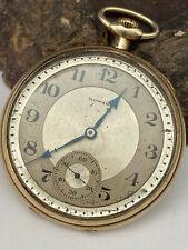 1917 E. HOWARD Watch Grade Series 7 12s 17J Swing Out KeystoneCase Pocket Watch