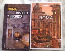 LO MEJOR DE ROMA Lonely Planet + ROMA INSÓLITA Y SECRETA