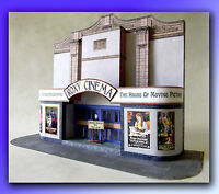 Cinema Model Kit For 7mm Scale 1:43 Ideal For O Gauge Railways, Trams, Cars