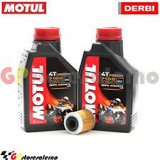 KIT TAGLIANDO OLIO + FILTRO MOTUL 7100 10W40 2L DERBI 125 GPR 4T 2011