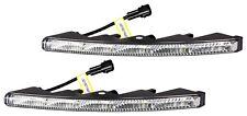 LED Tagfahrlicht Ultra Slim Design Riffelglas 12V 10 x SMD LEDs TÜV