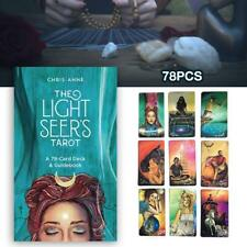 78 Sheets Light Seer's Tarot Card Deck & Guidebook By Chris-anne Tarot Card Game