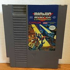Bionic Commando Nintendo NES Game Cleaned Tested Working