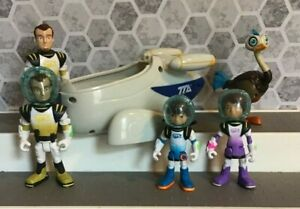 MILES FROM TOMORROWLAND TTA SPACE SHIP FIGURES DISNEY TOMY TOY Lot