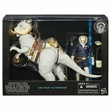 2015 Star Wars The Black Series Han Solo and Tauntaun 6 Inch Figures MIB