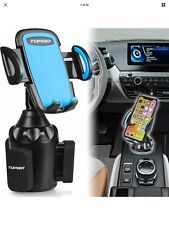New TOPGO Universal Adjustable Cup Holder Cradle Car Mount for Cell Phone