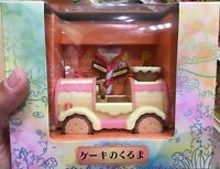 Sylvanian Families F-09 Cake Car vehicle EPOCH Calico Critters