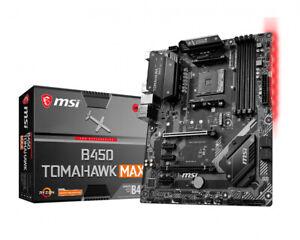 MSI Tomahawk Max AMD B450 AM4 ATX DDR4-SDRAM Motherboard