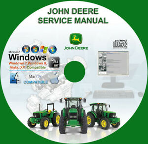 John Deere 4000 Series Compact Utility Tractor Attachments Service Repair Manual