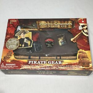 Pirates Of The Caribbean At World's End Jack Sparrow's Gear Costume Kit Cosplay