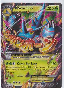 M Scarhino EX - XY03:Poings Furieux - 5/111 - Carte Pokemon Neuve Française