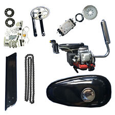 49CC GAS PETROL MOTORIZED BICYCLE BIKE ENGINE MOTOR With Belt Gear KIT 4-Stroke