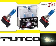 Putco 3800K Iron White H9 230009SW 65W Head Light Bulb High Beam Replace Lamp OE