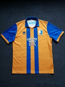 Mansfield town 2012-13 Home football Shirt Size Adults Mens XL