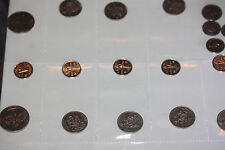 Starter Collection of CANADA Coins 7 Fifty Cents 2 Dollar 7 Nickels & Quarter