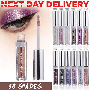 PHOERA Magnificent Metals Eyeshadow Glitter Glow Liquid metallic Eye Shadow HOT.