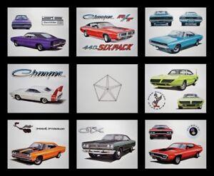 OLD DEALER ADS - 1968 1969 1970 CHARGER DAYTONA 318 383 440 SIX-PACK 440+6 DODGE