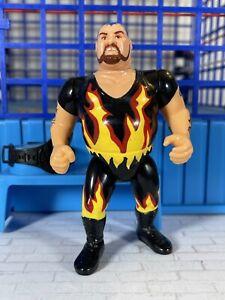 WWF Hasbro S8 Bam Bam Bigelow Action Works!! Titan Sports 🔥MINT🔥
