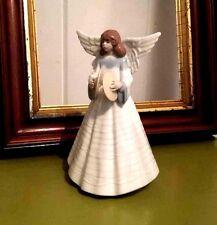 Lladro Christmas Angel Cymbals Ngelic Cymbalist #5876 Figurine Wings