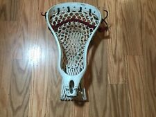 Used restrung Warrior Mojo White Lacrosse Head Osfa Lax travel box.