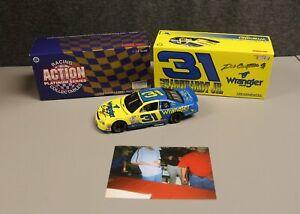 Dale Earnhardt Jr AUTOGRAPHED 1997 #31 BGN Wrangler 1:24 Nascar Diecast Signed