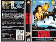 Point Break (1991) VHS PENTA VIDEO
