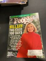 People Weekly May 10, 1993 Hillary Clinton the first 100 Days,Tracy Austin Weds
