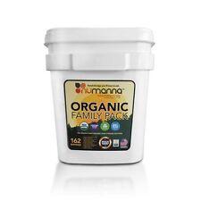 Numanna USDA Organic Food Storage Family Pack Bucket - Long Term Shelf Life