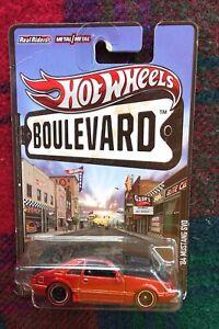 "2013 HOT WHEELS ""Boulevard"" 1984 Ford Mustang SVO brown (real riders)"