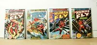 Marvel Comics The Human Fly #1 2 3 4 (1977) 1st Print FN/VF - BAGGED N BOARDED!