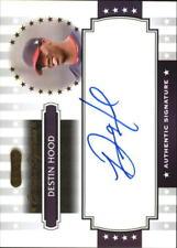 2008 Razor Signature Series Exclusives Autographs #ES26 Destin Hood - NM-MT