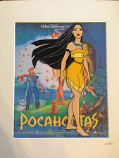 Disney - Pocahontas - Hand Drawn & Hand Painted Cel